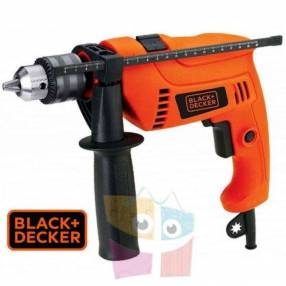Taladro Percutor 13mm 560W c/ maletín Black+Decker TM555