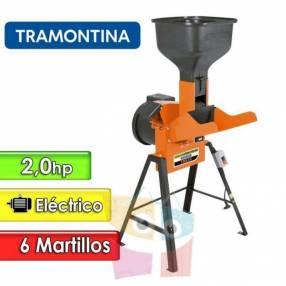 Triturador forrajera eléctrica 2 HP 6 martillos Tramontina tre30