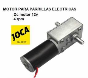 Motor de 12V para parrillas giratorias grill