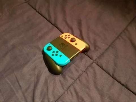 Nintendo Switch + 3 juegos + tarjeta de memoria de 128 gb - 7
