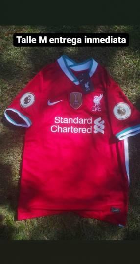 Camisa Liverpool talle M
