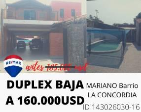 Duplex en Mariano Roque Alonso Barrio Concordia