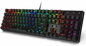 Teclado Gaming Mecánico Redragon K556 Devarajas RGB