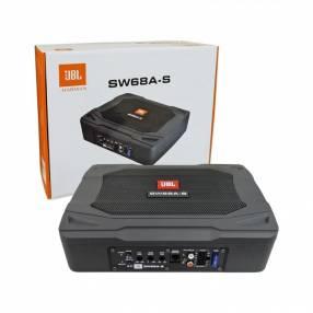 """Sub Amplificado JBL SW68A-S 6x8"""" 80W RMS"""