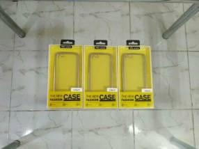 Case transparente plateado para iPhone 7 y iPhone 8