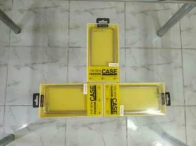 Case transparente plateado para iPhone 7 Plus y 8 Plus