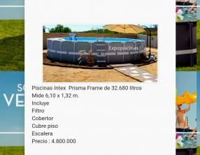 Piscinas Intex 32.680 litros