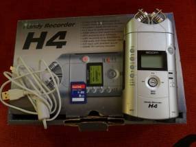 Grabador portátil Zoom H4 voz Instrumentos