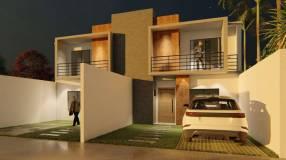Duplex tipo casa en Lambaré zona campus UAA