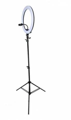 Luz aro LED con trípode 10 pulgadas