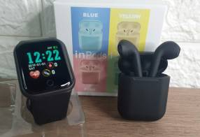 Reloj D20 y auricular negro ️