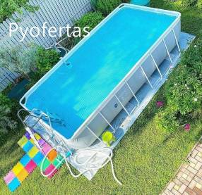 Piscina rectangular Intex 10.874 litros