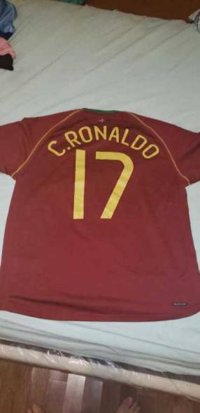 Remera de la selección Portugal 2008