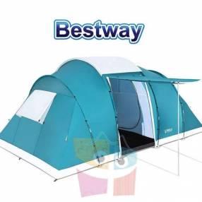 Carpa de Camping - Para 6 personas - 4,9 x 2,8 x 2,0 Mtrs