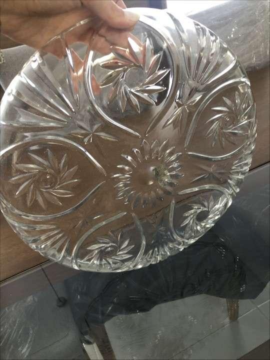Frutera de vidrio nueva en caja - 2