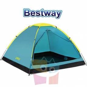 Carpa de camping para 3 personas 2,1 x 2,1 x 1,3 mts Bestway Cooldome 3
