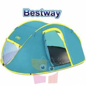 Carpa de Camping - Para 4 personas - 2,1 x 2,4 x 1,0 Mtrs