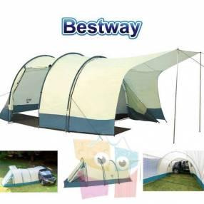 Carpa de Camping - Para 4 personas - 2,2 x 2,8 x 2,0 Mtrs