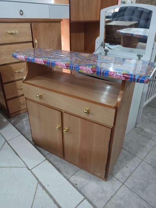 Mesa de planchar madera nar - 0