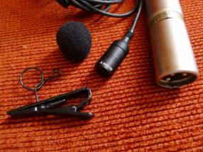 Micrófono condensador SONY ECM-55B lavelier (PRO)