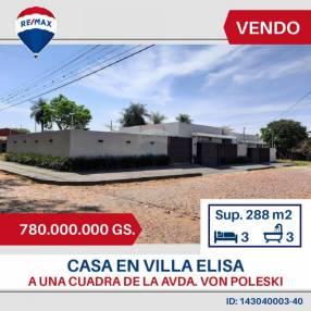 Duplex a una cuadra de la avenida Von Poleski