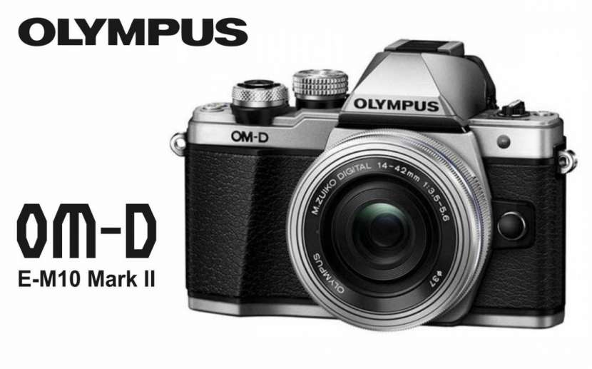 Cámara Olympus OM-D E-M10 Mark II Kit 14-42mm - 0