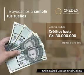 Préstamos a funcionarios públicos por débito