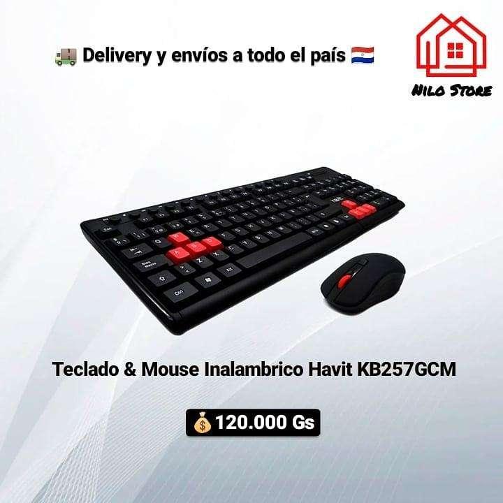 Teclado Inalámbrico Havit HV-KB257GCM kit con mouse - 0