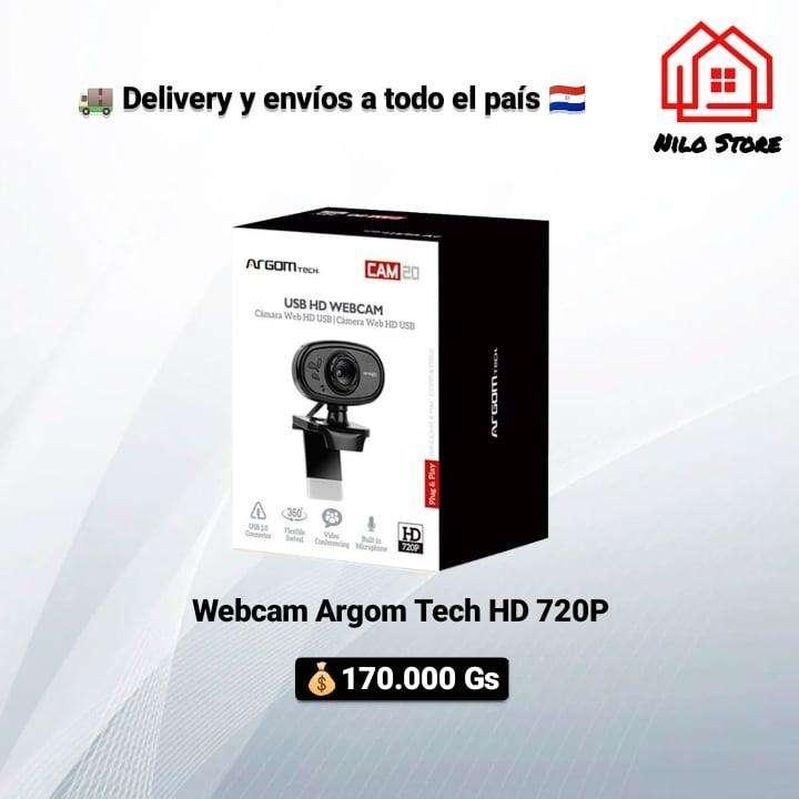 Webcam Argom Tech HD CAM20 - 1