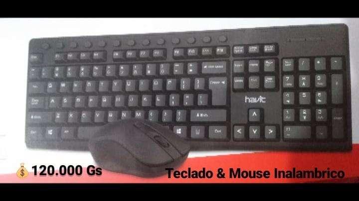 Teclado Inalámbrico Havit HV-KB257GCM kit con mouse - 1