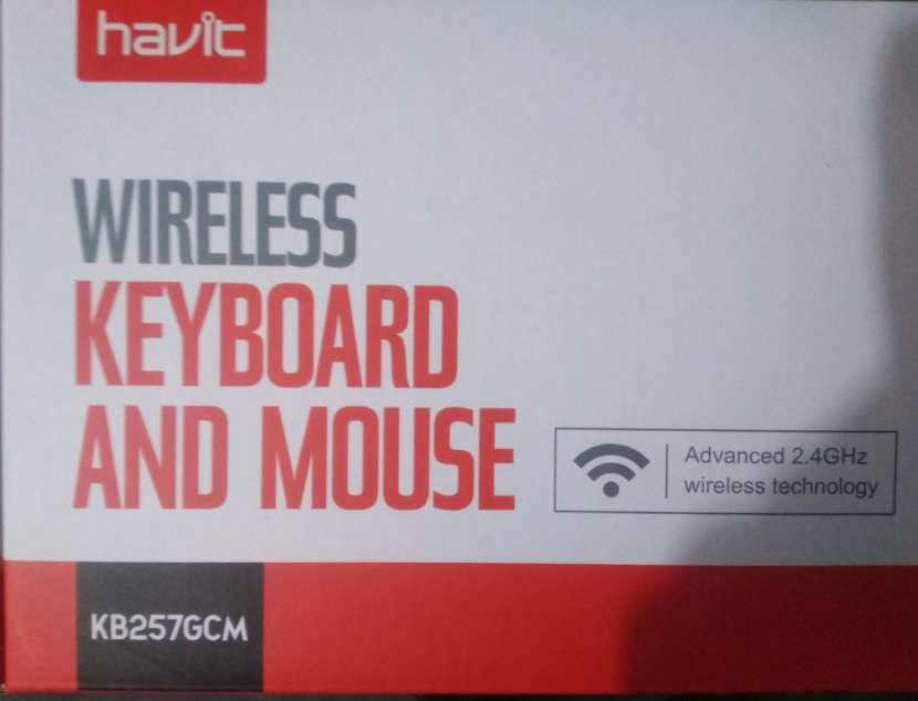 Teclado Inalámbrico Havit HV-KB257GCM kit con mouse - 2