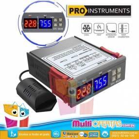 Termostato Controlador Temperatura y Humedad p/ Incubadora
