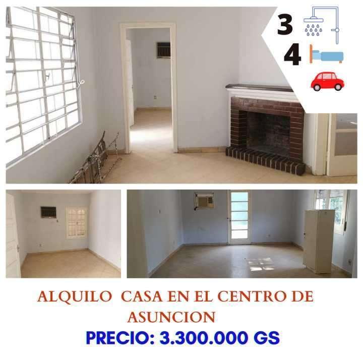 Casa en el centro de Asunción - 0