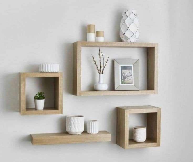 Repisas flotantes diseños minimalista - 1