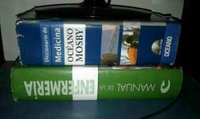 Diccionario Mosvy y manual de enfermería