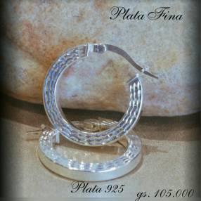 Argolla de plata Italiana 925