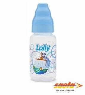 Mamadera 150 ml azul 1470 Lolly
