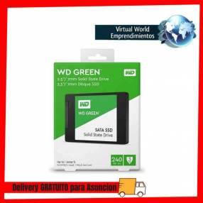 Ssd sata3 240gb western digital wds240g2g0a green