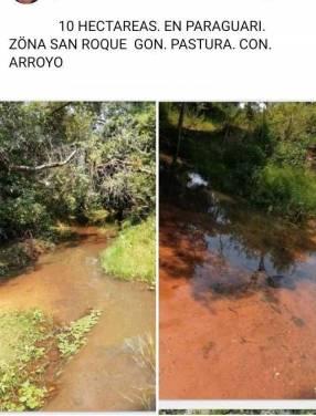 Terreno de 10 hectáreas en Paraguarí San Roque