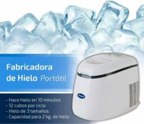 Fabricadora de hielo Consumer 2 kilos