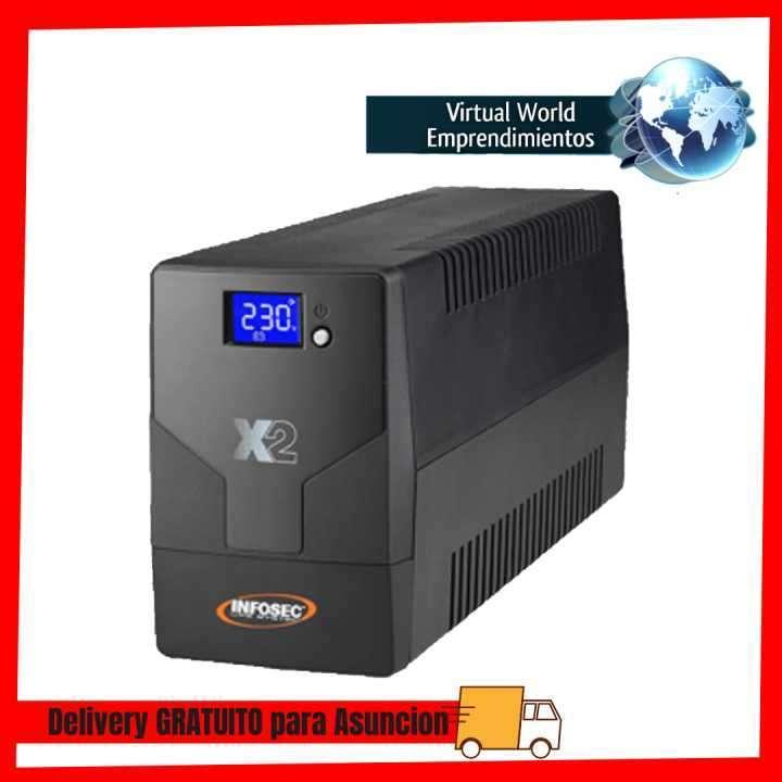 UPS Infosec 220V X2 1600 Touch lcd Nema HV - 0