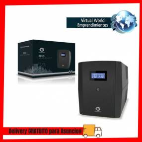 UPS 2200VA Conceptronic línea interactiva