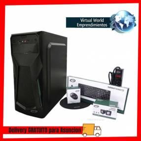Gabinete kit FTX3705 500W mouse teclado speaker pad filtro FTX SP