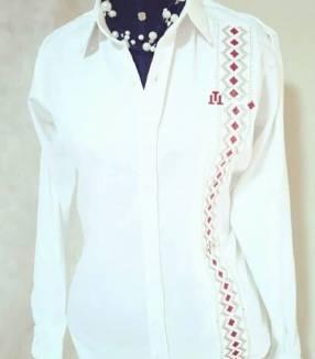 Camisa en algodón premium lujo