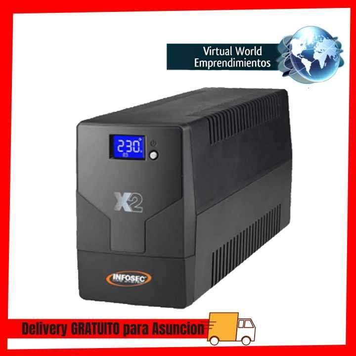 UPS Infosec 220V X2 2000 Touch lcd Nema HV - 0