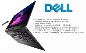 "Notebook Dell i7 13.3"" X360 4K."