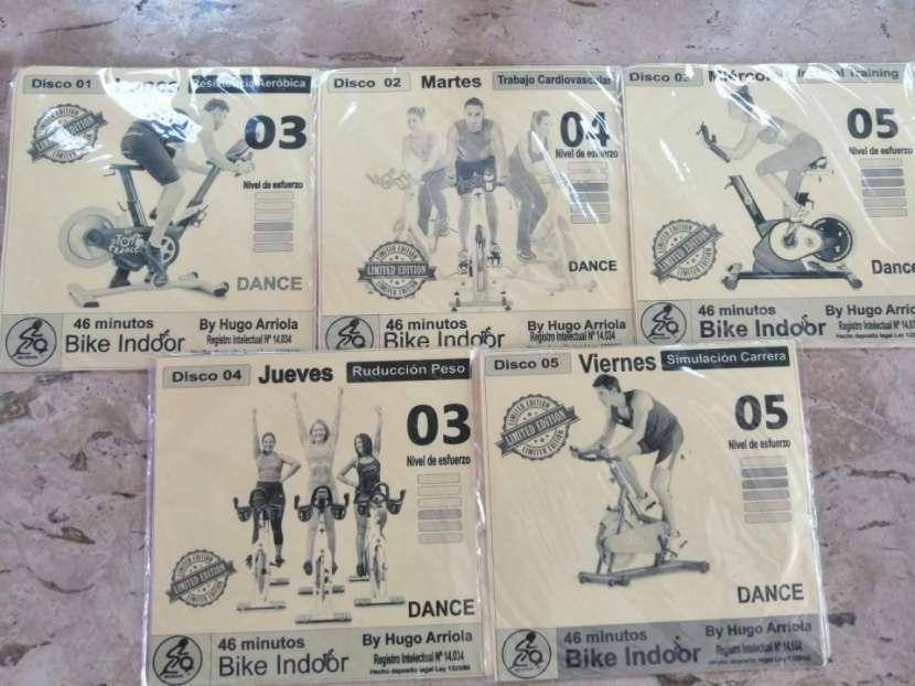 Bike Indoor programa de entrenamiento (5 CD) y libro digital - 1