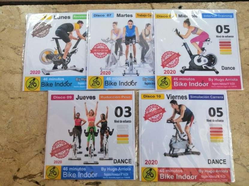 Bike Indoor programa de entrenamiento (5 CD) y libro digital - 2