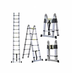 Escalera telescopica 3 en 1 3,70 cm