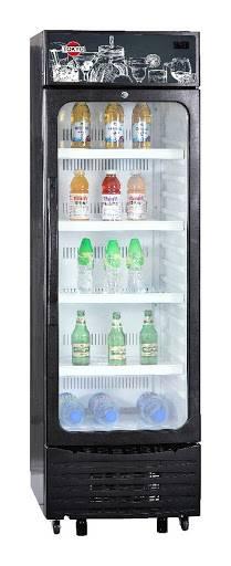 Visicooler para bebidas o expositor vertical tokyo-mod tokvs250 panel led 250l com/242l neto